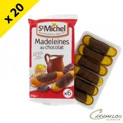 MADELEINE LONGUE MARBRE X6 90G ST MICHEL
