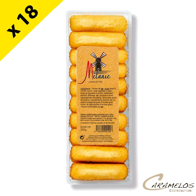 LONGUETTES NATURES BQ 250G DOUCY