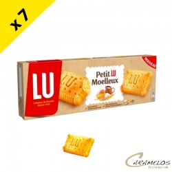 PETIT LU MOELLEUX chocolat  7X140G