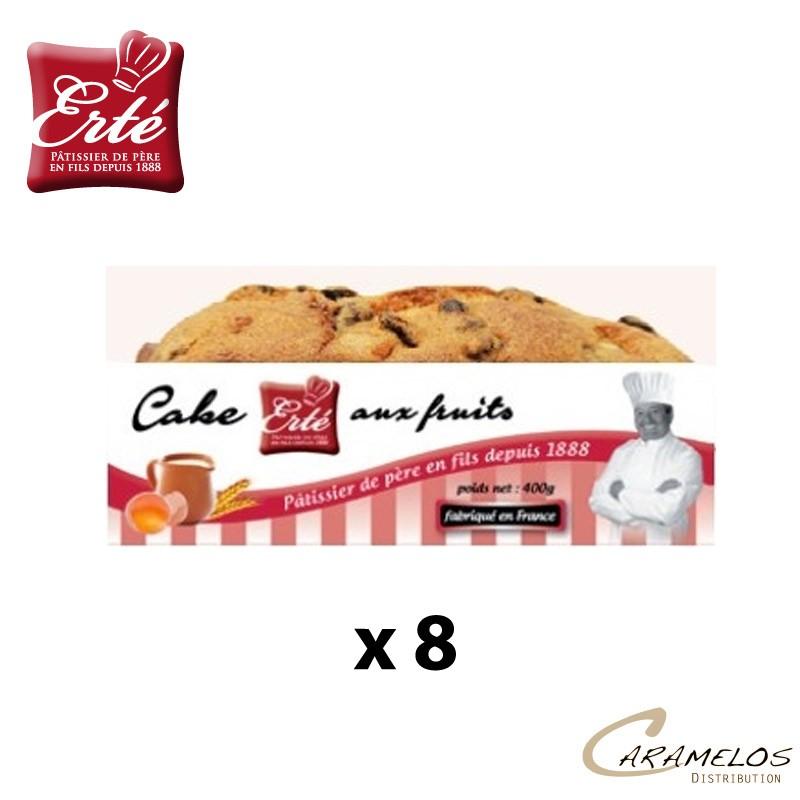CAKE AUX FRUITS CONFITS 360G  ERTE