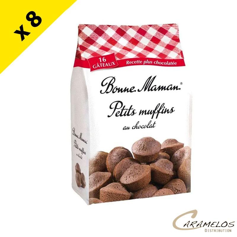 PETITS MUFFINS CHOCO X16  Bonne Maman X8