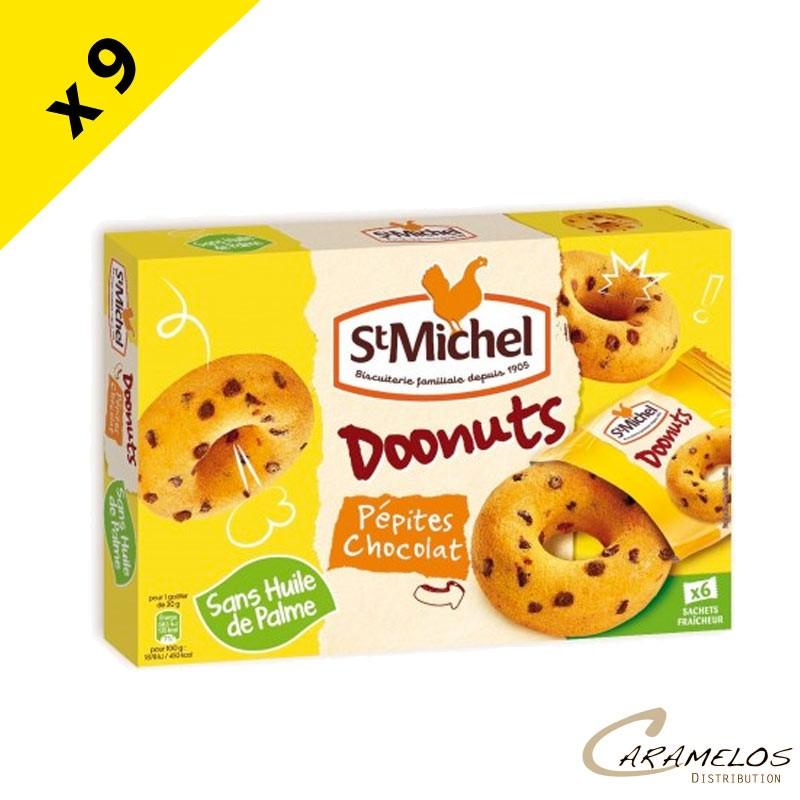 DOONUTS PEPITES CHOCOLAT 180G ST MICHEL