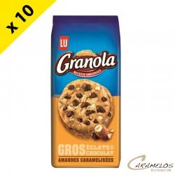 GRANOLA EXTRA COOKIE CHOC. AMANDES 184 G