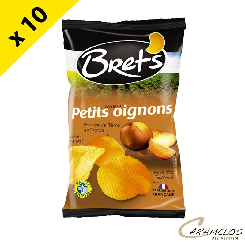 CHIPS BRET'S PETITS OIGNONS 125 G