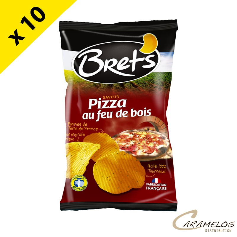 CHIPS BRET'S pizza 125 G