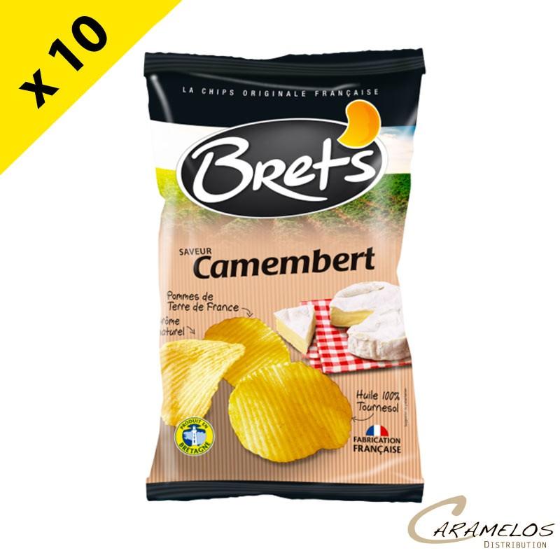 CHIPS BRET'S camembert 125 G