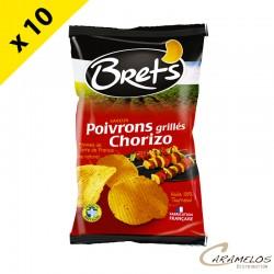 CHIPS BRET'S poivrons chorizo 125 G
