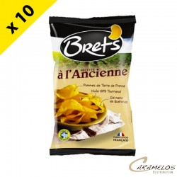 CHIPS BRET'S NATURE ANCIENNE 125 G
