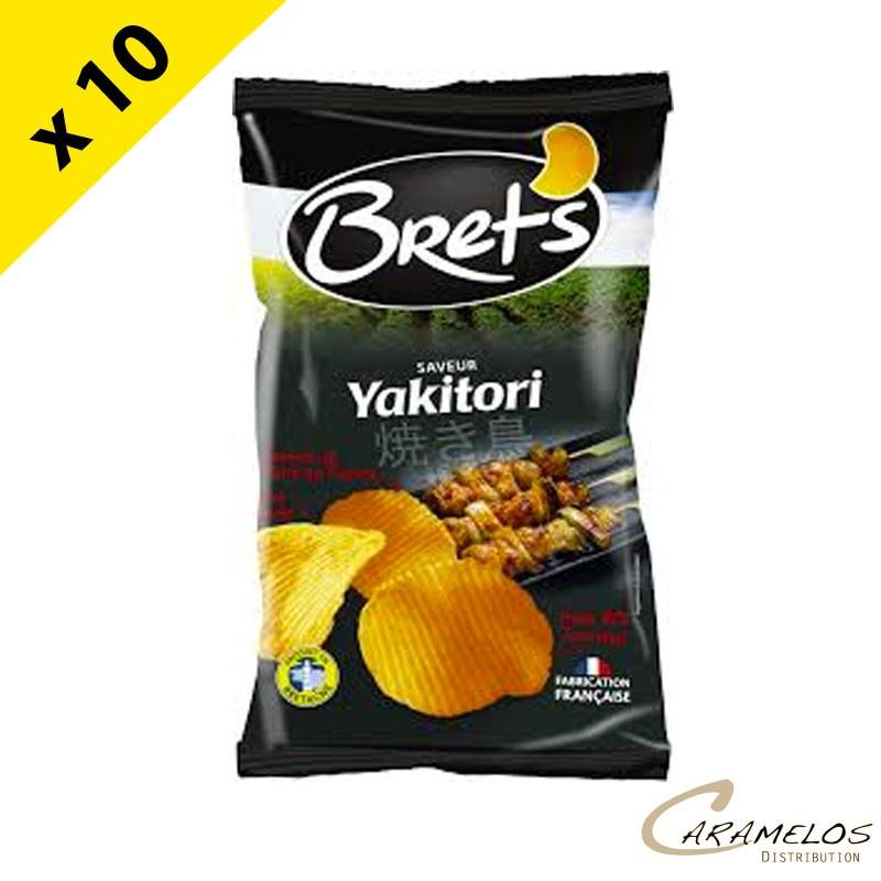 CHIPS BRET'S  yakitori 125 G