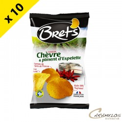 CHIPS BRET'S CHEVRE PIMENT 125 G