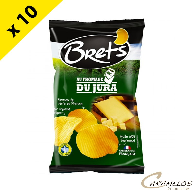 CHIPS BRET'S  FROMAGE JURA  125 G