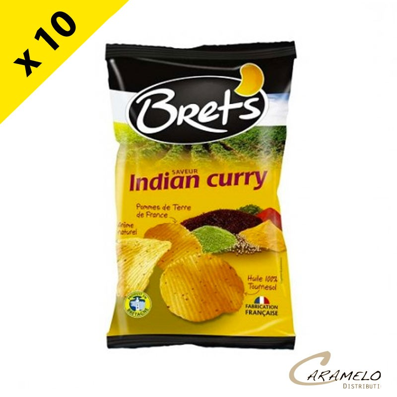CHIPS BRET'S INDIAN CURRY 125 G