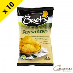 CHIPS BRET'S PAYSANNES NATURE 125 G