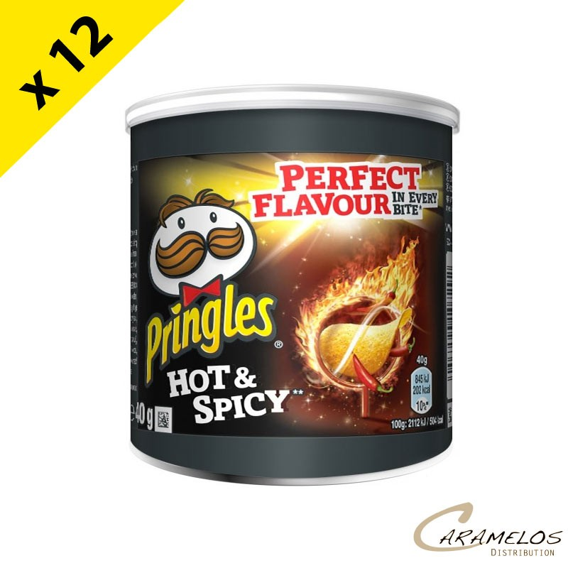 PRINGLES HOT & SPICY  PM  40 Grs