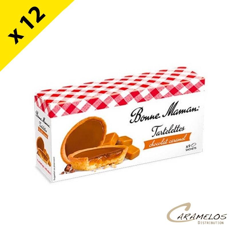 TARTELETTE CHOC CARAMEL BONNE MAMAN 135G