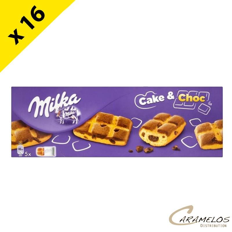 MILKA CAKE & CHOC 175G X16