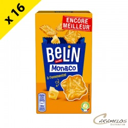 MONACO CRACKERS EMMENTAL BELIN 50G X16