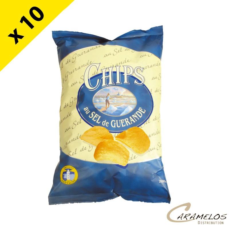 CHIPS ALTHO  SEL DE GUERANDE  200 G
