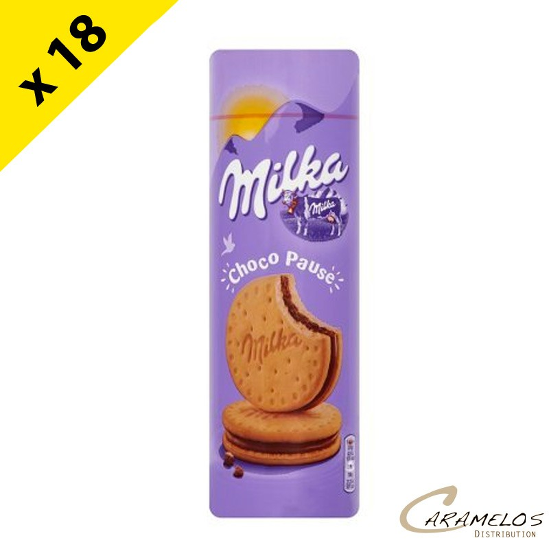 MILKA CHOCO PAUSE 260G X18