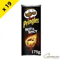 PRINGLES HOT & SPICY  GM  175 Grs