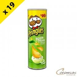 PRINGLES CREAM OIGNON  GM  175 Grs