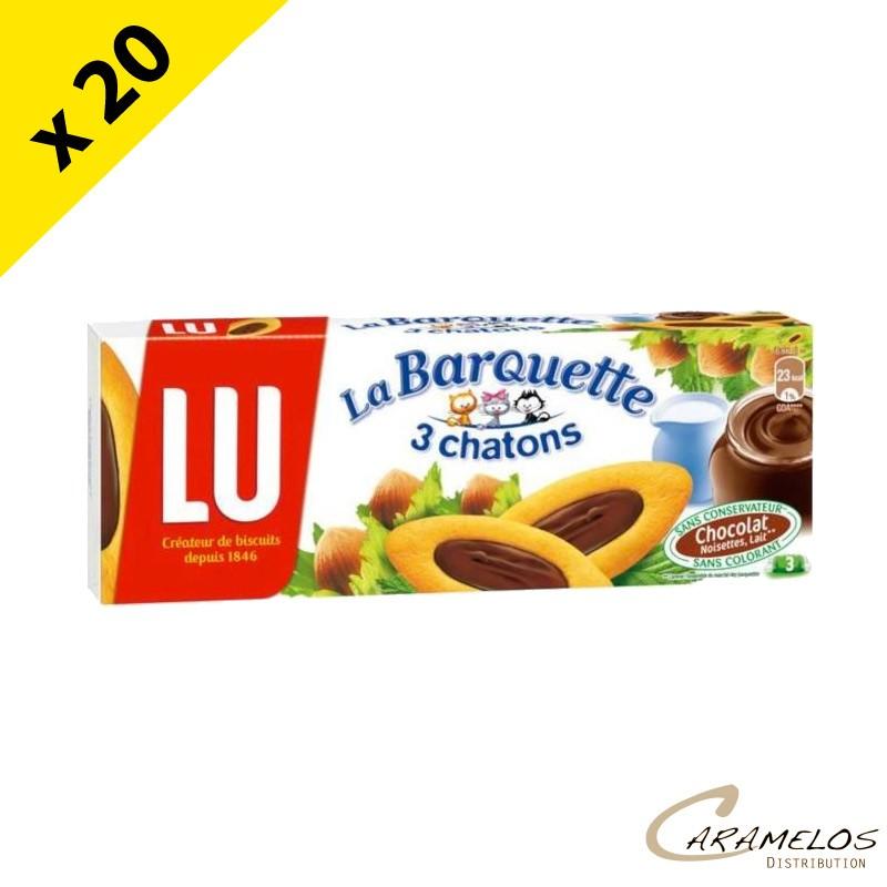 BARQUETTE CHOCOLAT 120G X20