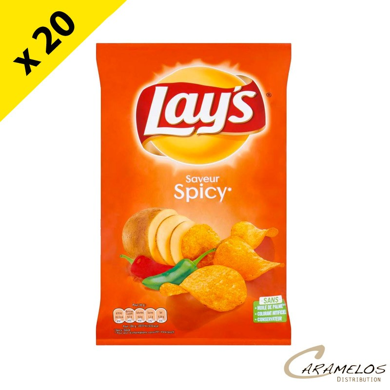 CHIPS LAYS SPICY 145 GR