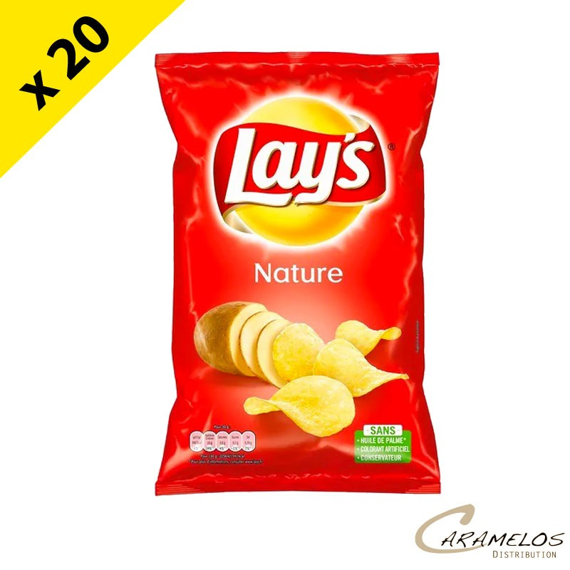 CHIPS LAYS NATURE SEL  145G