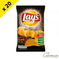 CHIPS LAYS BARBECUE  145G