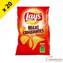 CHIPS LAYS MAX CRAQUANTES NAT 145G