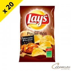 CHIPS LAYS POULET  145G