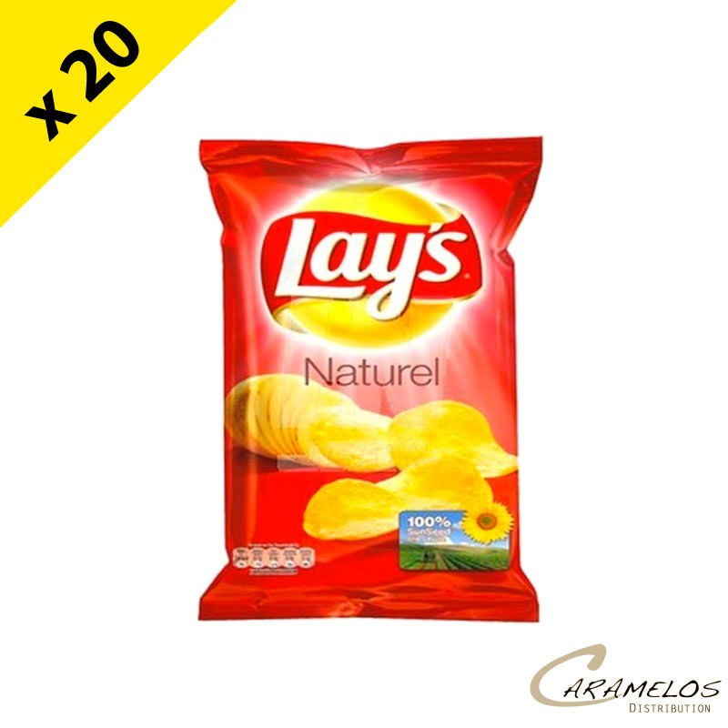 CHIPS LAYS NATURE SEL 45 grs