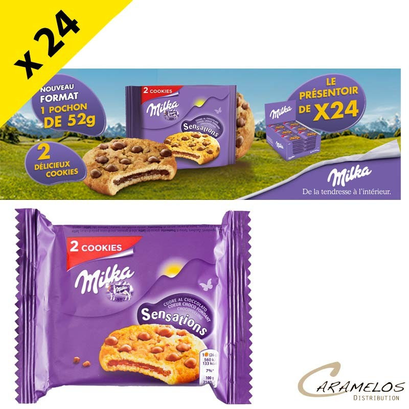 MILKA SENSATIONS pocket 52GX24