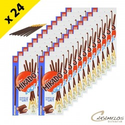 MIKADO LAIT POCKET 39G X 24