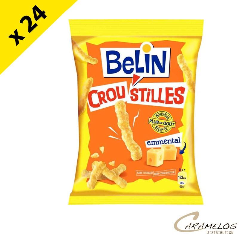 CROUSTILLES EMMENTAL BELIN 88G  X 24