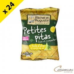 PETITES PITAS HUILE D'OLIVE  40G