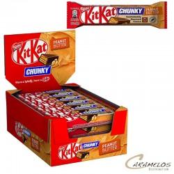 Confiserie KIT KAT CHUNKY peanut butter 24x42G au tarif grossiste