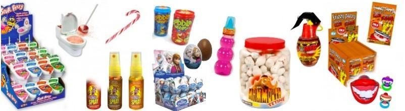 Achat en ligne de confiserie Ludique, bonbon jouet...